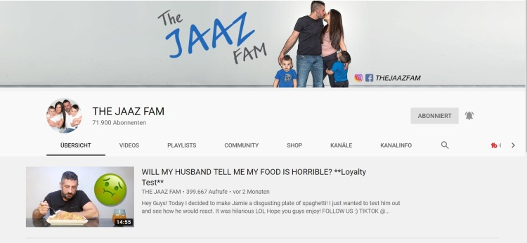 Shoutout The Jaaz fam